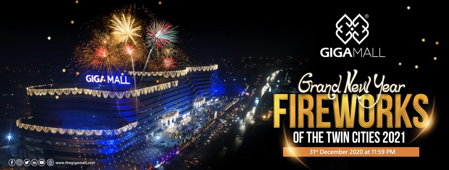 GIGA Mall Brings Spellbinding Grand New Year Fireworks 2021