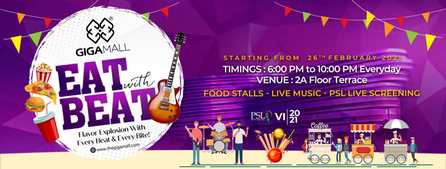 EAT WITH BEAT – GIGA MALL FOOD FESTIVAL IS STARTING NOW!