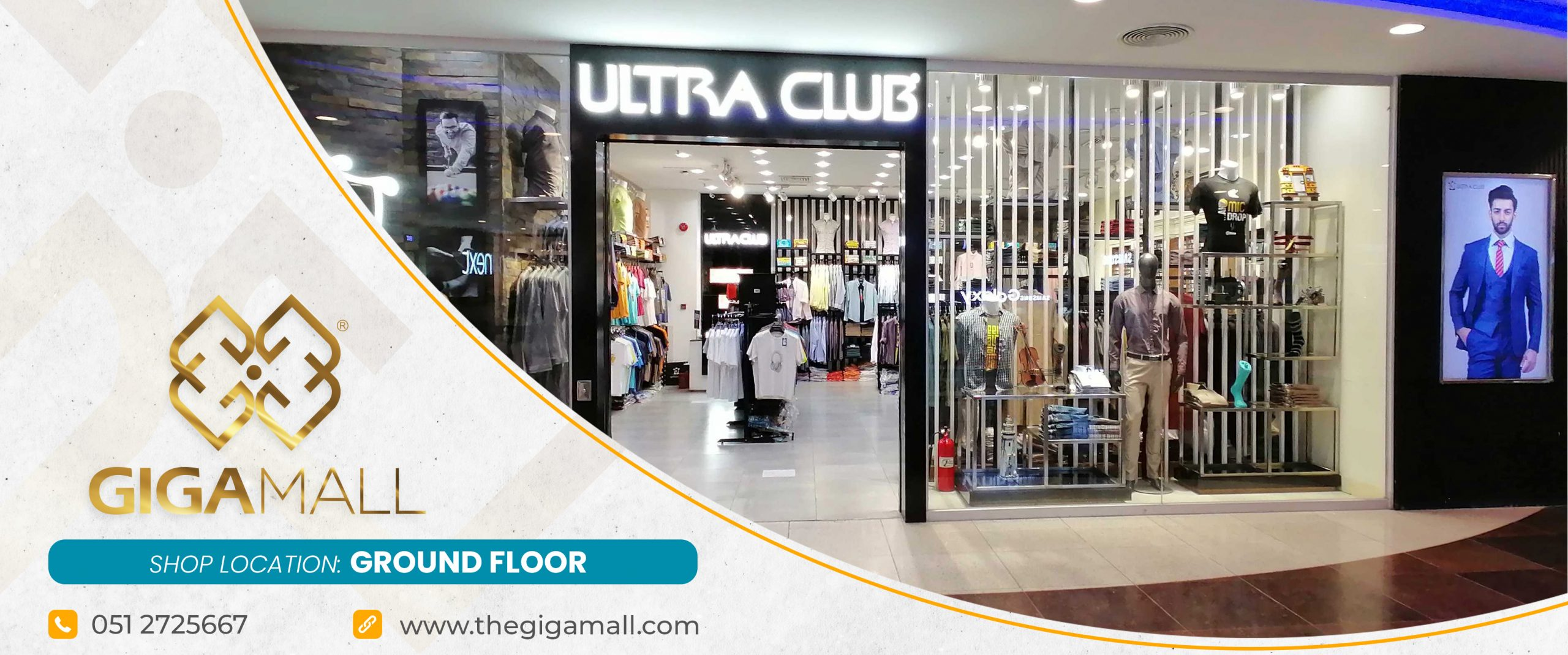 Ultra Club Clothing   Giga Mall   Giga Mall Pakistan
