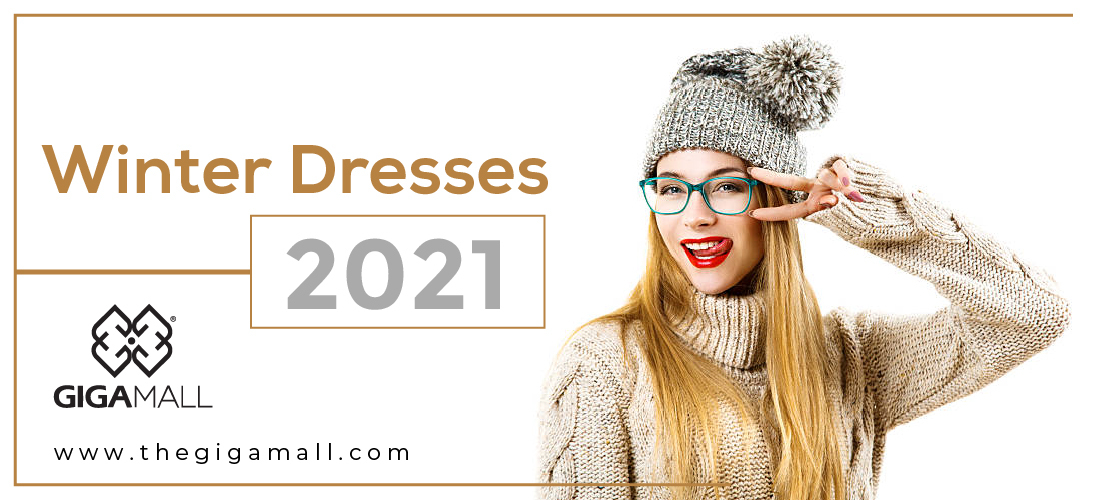 Stylish Winter Dresses For Girls in 2021