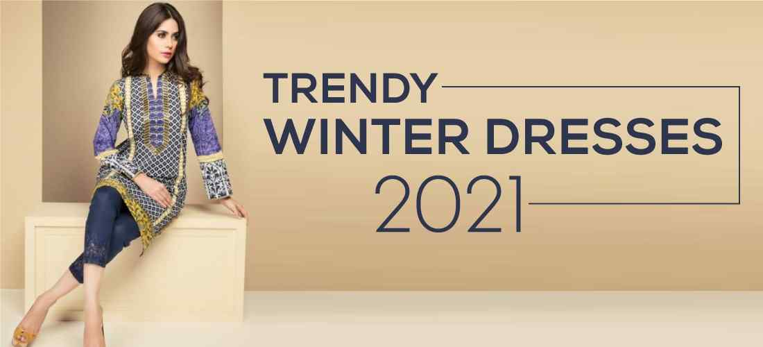 Trendy Winter Dresses for Girls in 2021